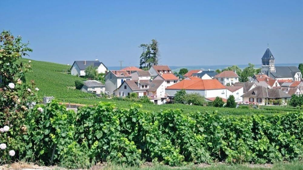 Villages in the Champagne Region