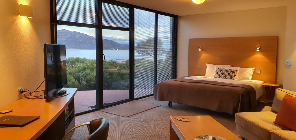 Edge of the Bay Resort Coles Bay - from the bedroom with stunning views