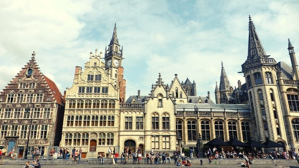 Ghent City and its architecture