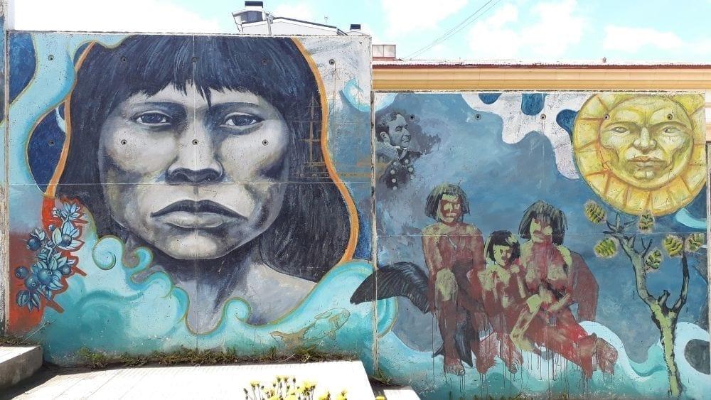 Street art of Ushuaia