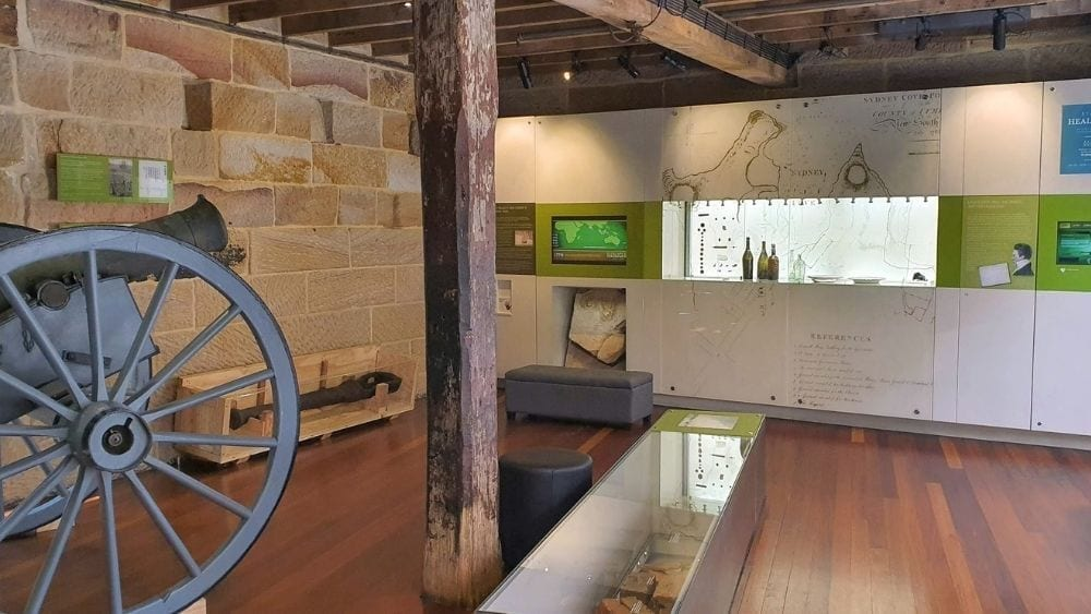 The Discover Museum at the Rocks