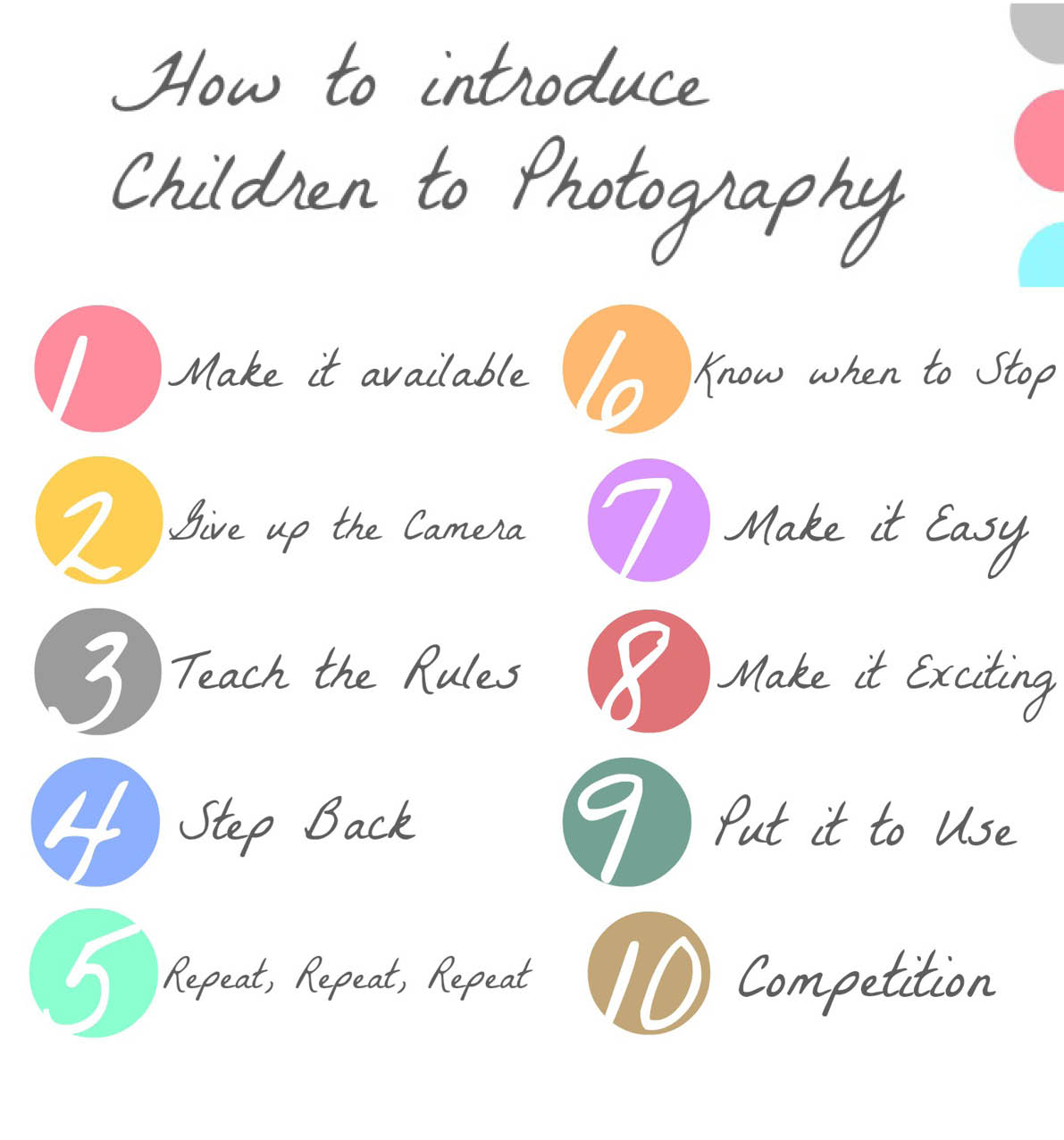 How To Introduce Children To Photography
