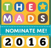 Vote For Ginger Mum at the MADS blog awards