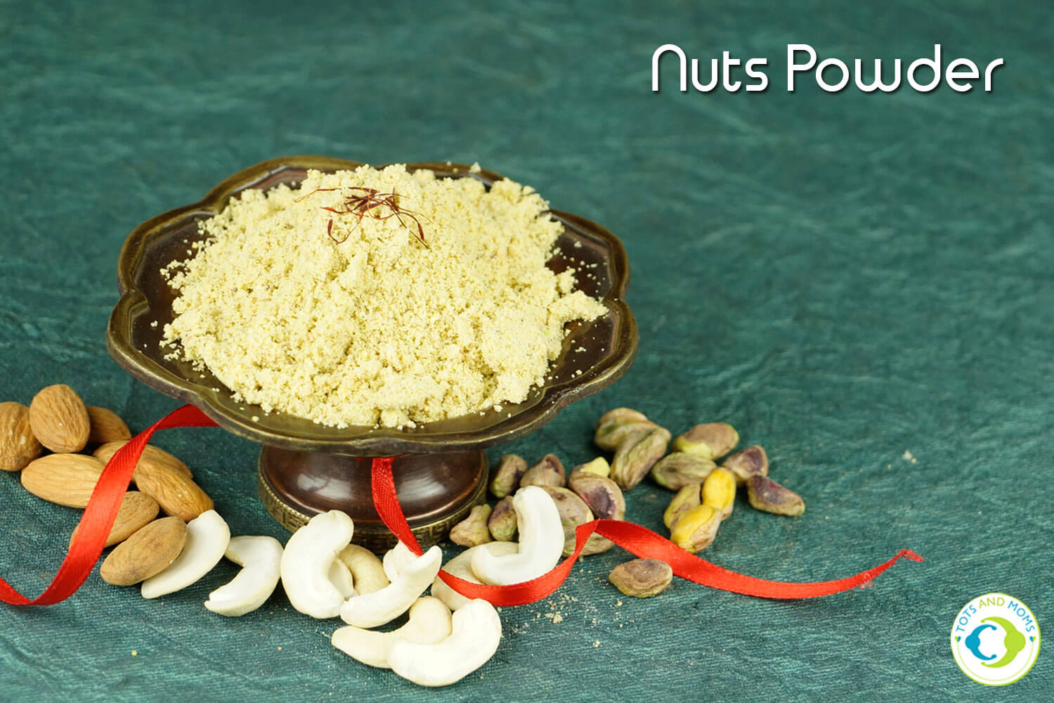 NUTS POWDER for Babies, Toddlers, Kids & Family for desserts, sweets, porridges