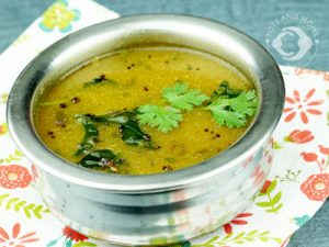 Pepper Rasam for Cough or Cold or Post Natal care