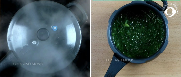 Spinach Soup for Babies