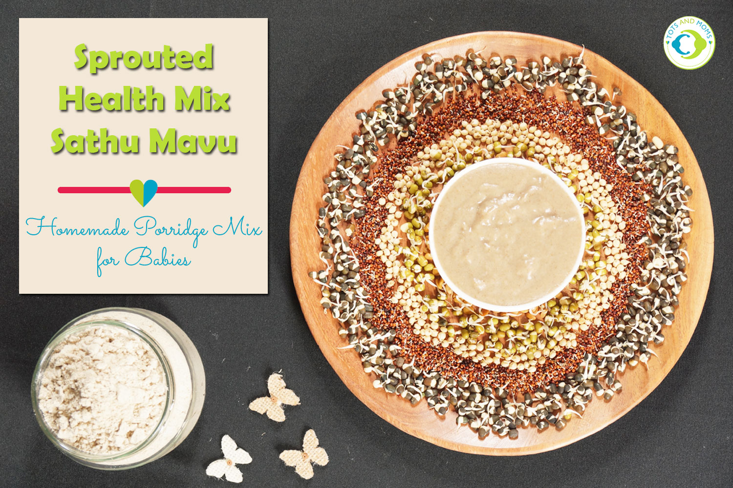 Sprouted Health Mix Sathu Mavu for Babies, kids and family