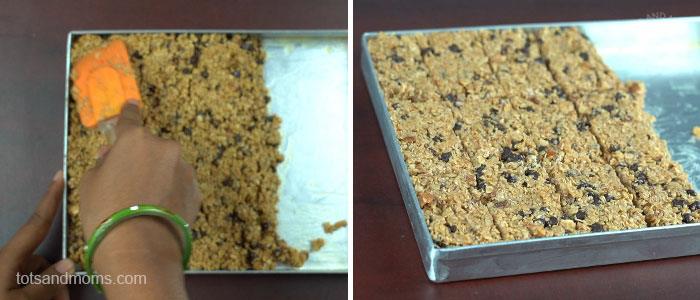 Granola Bars | No Bake Protein Rich Bar for Kids | Lactation Friendly Bars