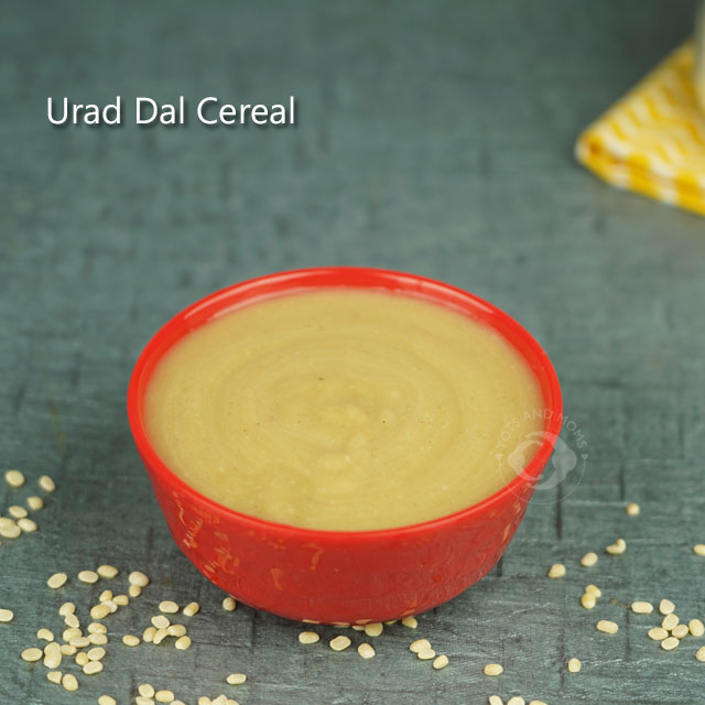 Urad Dal Cereal Porridge for Babies Split Black Gram Weight Gain