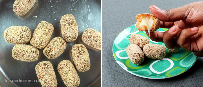 Cheesy Potato Bites for Babies, Toddlers and Kids