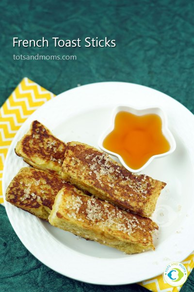French Toast Sticks bread recipe for toddlers kids snackbox hindi kannada
