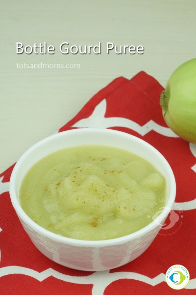 Bottle Gourd Puree Lauki Puree 6 months baby food Can I give my baby Bottle Gourd Sorekaayi for babies Bottle Gourd recipes for babies and toddlers how to give bottle gourd to babies healthy bottle gourd puree for babies