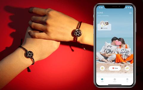 Totwoo Smart Couple Bracelets