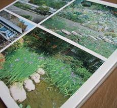 重要建造物庭園の案内用サイン写真陶板