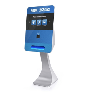 Advantages of a card printing kiosk Right Touch 1 touch screen kiosk