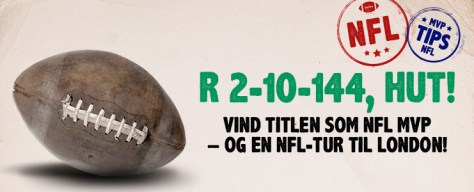Vind en nfl-tur til London