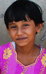 Flicka från Badi-folket