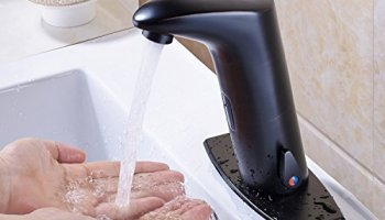 Rozin Touchless Cold and Hot Water Basin Faucet Deck Mounted Sensor