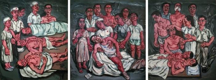 "Série ""Hospital"", Triptych-No.2"