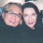 Ricard Akagawa e Marina Abramovic