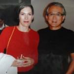 Ricard Akagawa e Sarah Morris