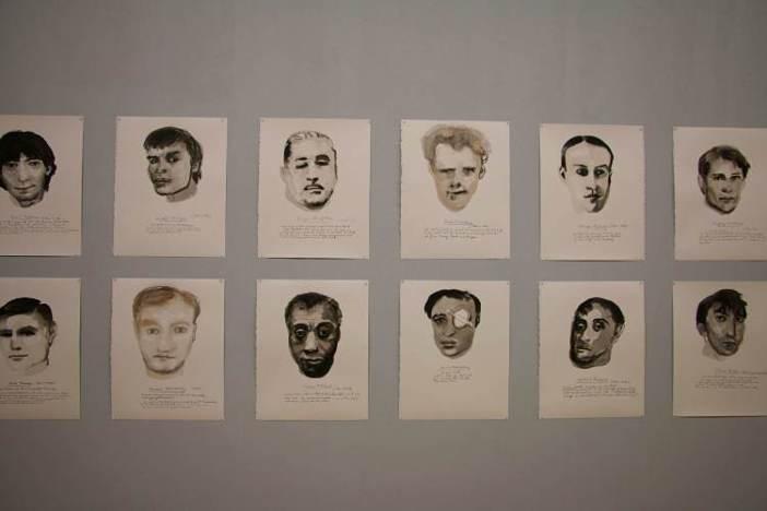 Great Men, obras de Marlene Dumas expostas na Manifesta 10