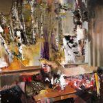 """The Hunted,"" 2010, de Adrian Ghenie"