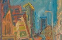 Mornington Crescent—Summer Morning, 2004, Frank Auerbach