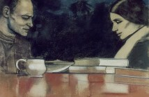 Two London Painters: Frank Auerbach and Sandra Fisher, 1979, R.B. Kitaj
