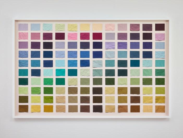 Untitled (Crumpled Chromatic Scale) 2, 2016