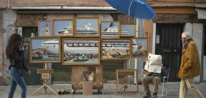 Banksy foi expulso da mais famosa Piazza de Veneza – e tem provas!
