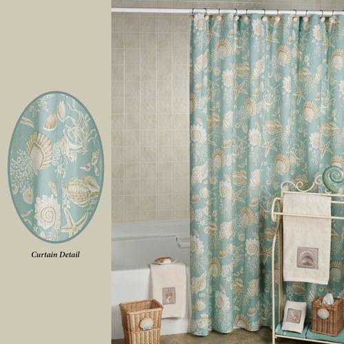 Natural Shells Shower Curtain