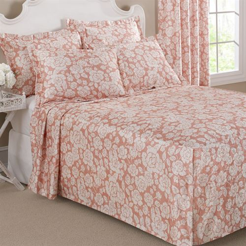 Floral Grace Lightweight Fitted Bedspread