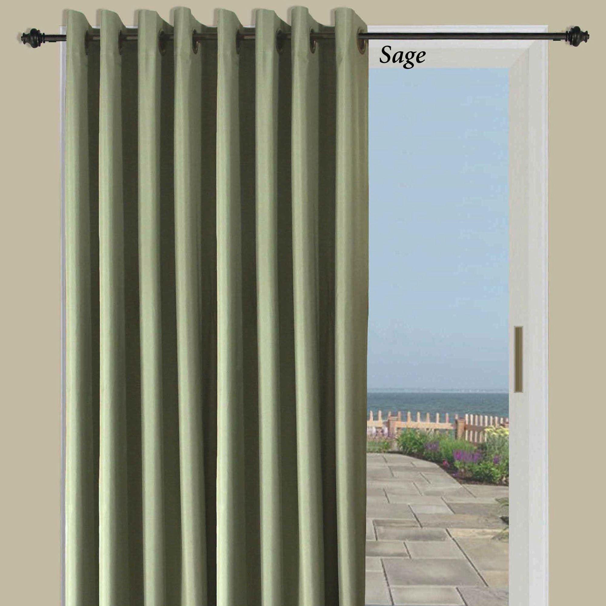 thermal elegance grommet patio panel