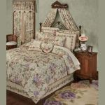 Meadow Champagne Floral Comforter Set Bedding