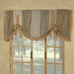 Prairie Mill Farmhouse Style Tie Up Window Valance