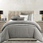 Fenton Modern Gray Mini Comforter Set Bedding