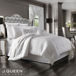 Astoria Scroll Off White Comforter Bedding By J Queen New York