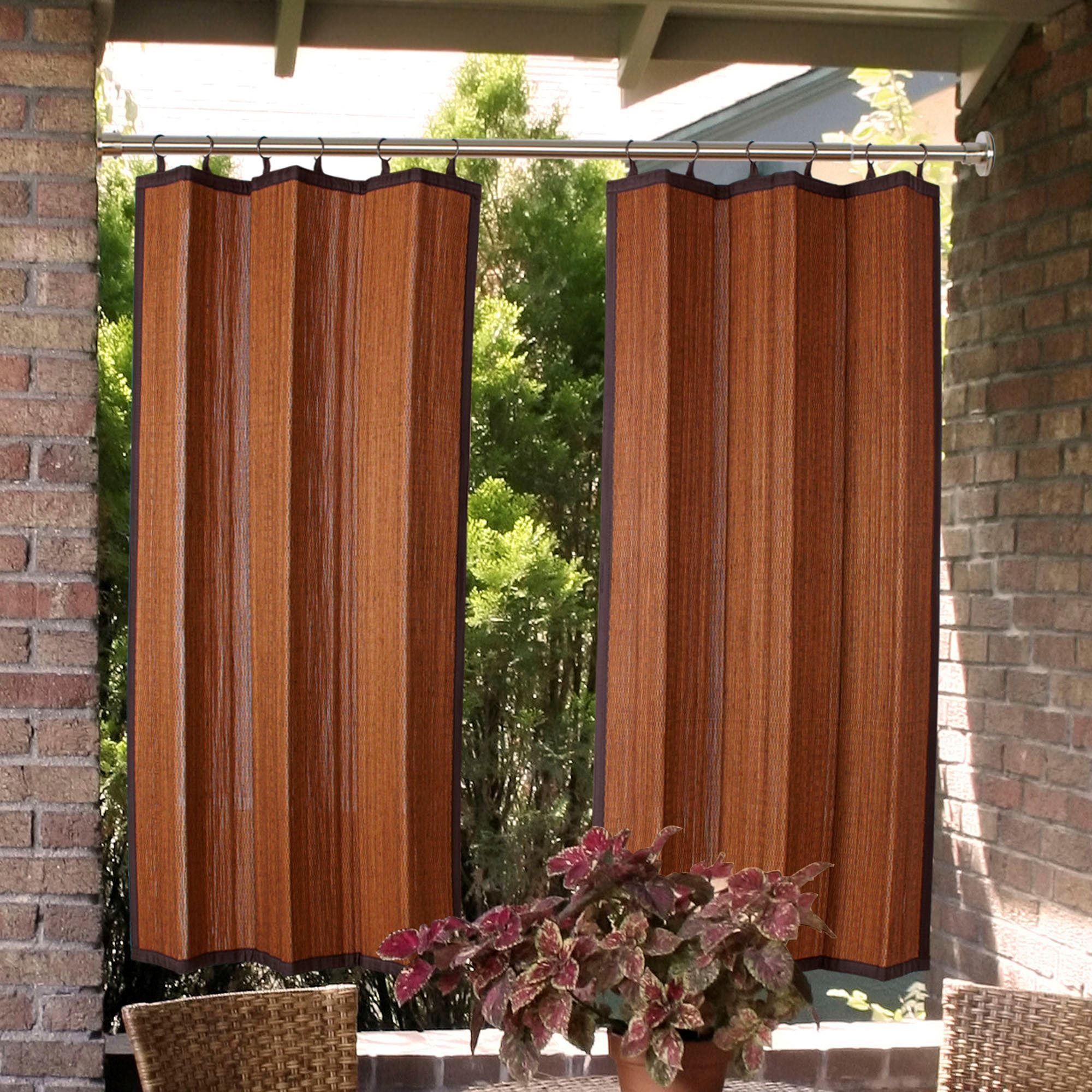 indoor outdoor duo tension rod set