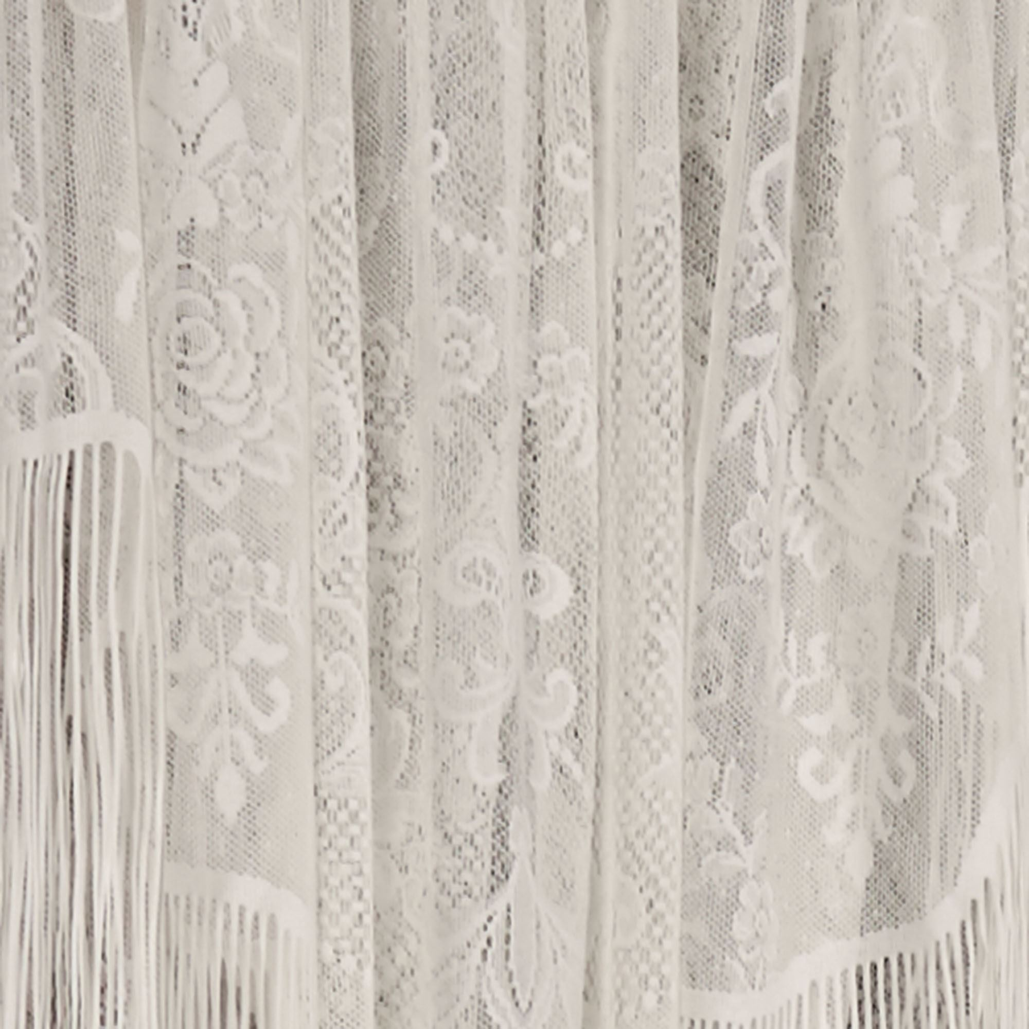 Queens Lace Long Swag Valance Window Treatment