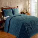 Rio Lightweight Cotton Chenille Bedspread Bedding