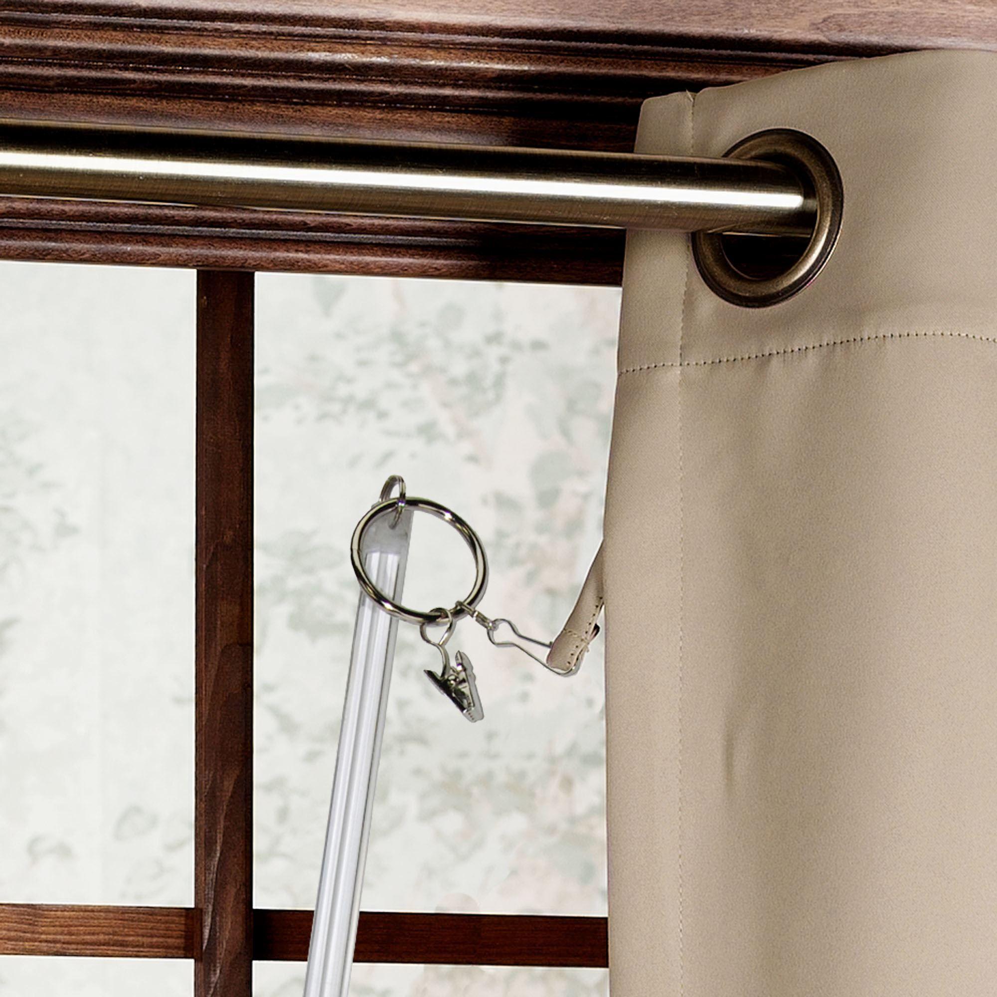 extra long drapery curtain wand pair