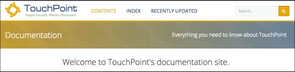 Documentation Header