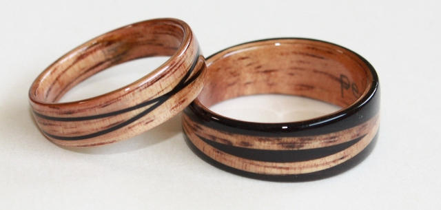 Wooden Rings By Touch Wood Rings A Photo Gallery