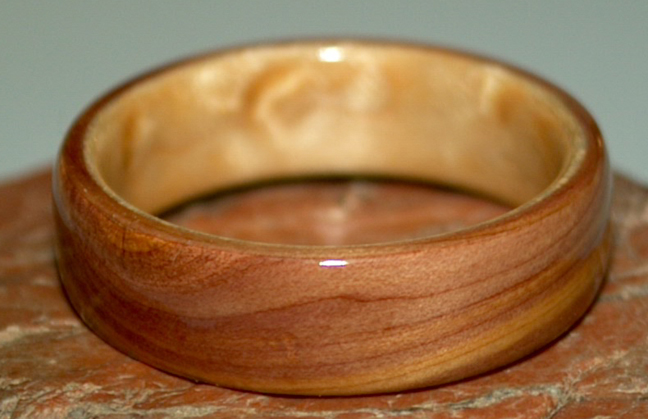 Juniper Heartwood Wedding Rings By David Finch Touch Wood