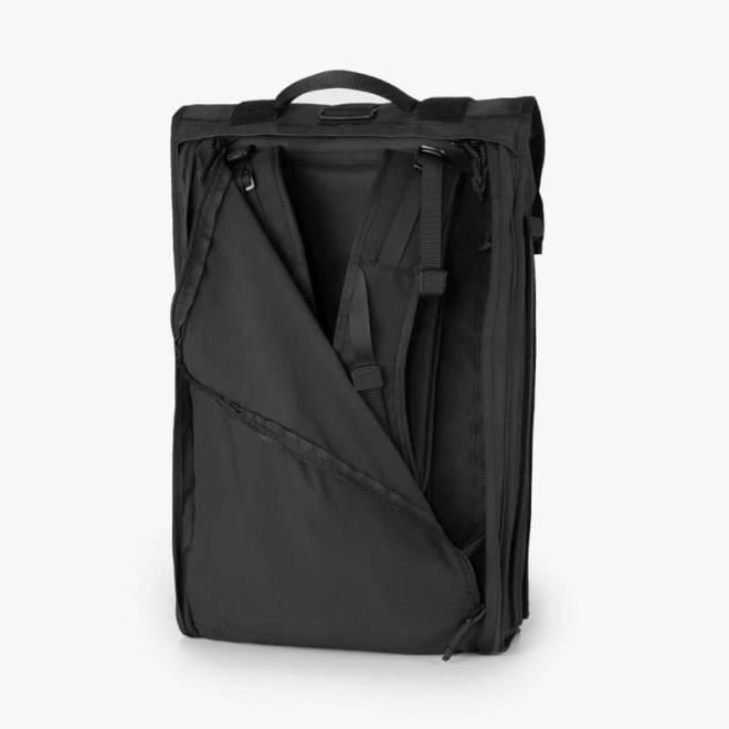 Mission Workshop Radian Travel Pack Concealed Shoulder Straps
