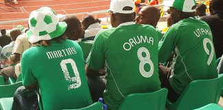 Supporter nigérians au Ghana en 2008 - Photo : Oluniyi David Ajao, Flickr