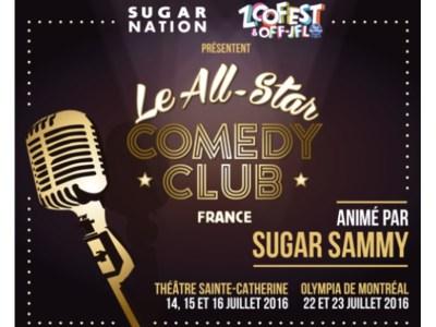 All-Star Comedy Club France 2016