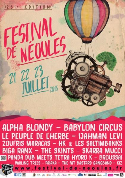 FESTIVAL DE NEOULES 2016