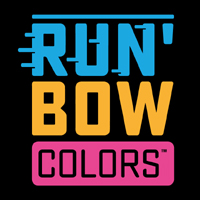 LOGO RUN BOW COLORS